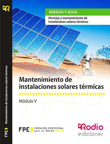 Mantenimiento de Instalaciones Solares Térmicas rodio