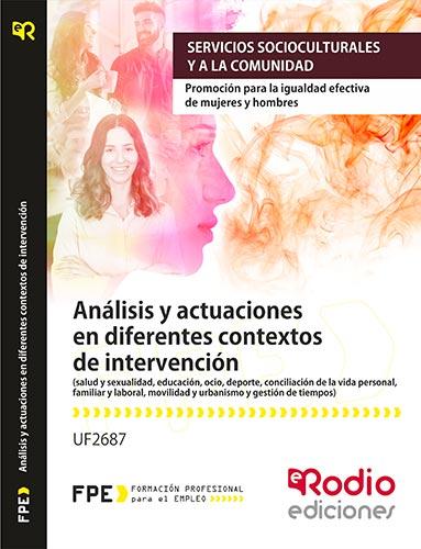 analisis y actuaciones en diferentes contextos de intervención. igualdad de género. rodio
